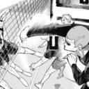 ハイキューネタバレ329話(確定情報)|桐生八は悪球でもパワーのあるスパイクを撃つ!中学時代の後悔がバネ!