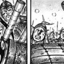 キングダムネタバレ583話(確定速報)|カイネが右の戦場に現れる!狙われるのは玉鳳隊の王賁!