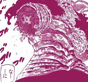 七つの大罪285話 魔神王の腕を斬る力に目覚めたメリオダス