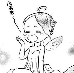 ブラッククローバー3巻 ユノと風の精霊シルフ