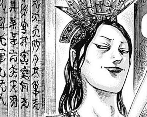 キングダム46巻 悼襄王の顔