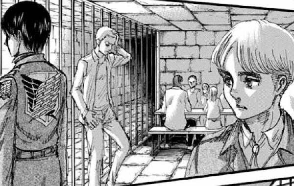 進撃の巨人113話|イェーガー派がアルミンやミカサを地下牢に。エレンが救いたかったから?シガンシナ区にいる