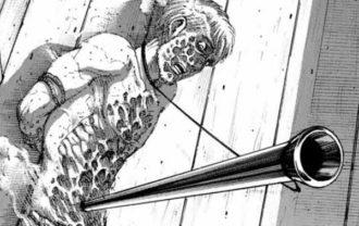 進撃の巨人ネタバレ114話(確定速報)|リヴァイとジークが死亡!親売りの回想!