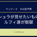 ワンピースネタバレ946話展開予想|アシュラ童子が見せたいものとは?クイーンVSビッグマム?