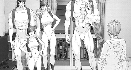 GIGANT(ギガント)57話 パピコの家に未来人