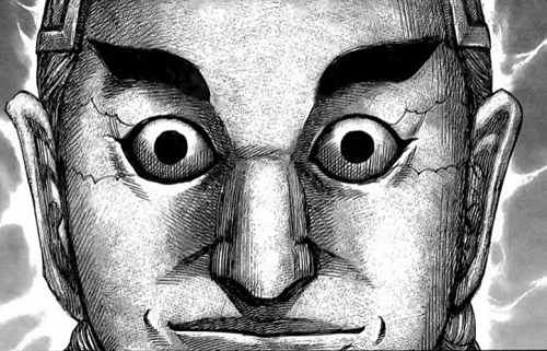 キングダム655話 満羽将軍が麃公将軍のような鬼神に見える
