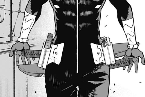 怪獣8号19話 保科副隊長の武器は短刀