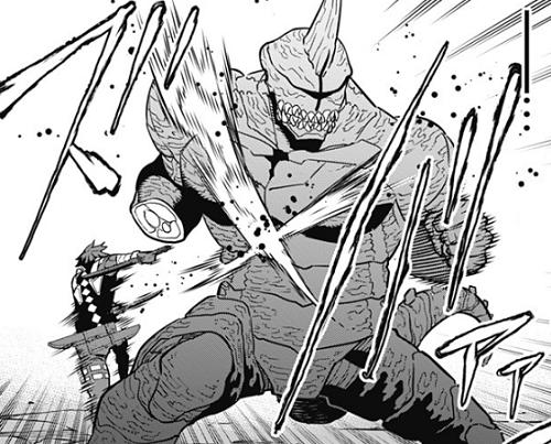 怪獣8号27話 保科流刀伐術2式「交差討ち」