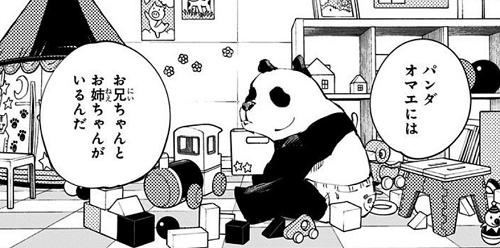 呪術廻戦5巻 パンダに兄と姉の存在を教える夜蛾正道