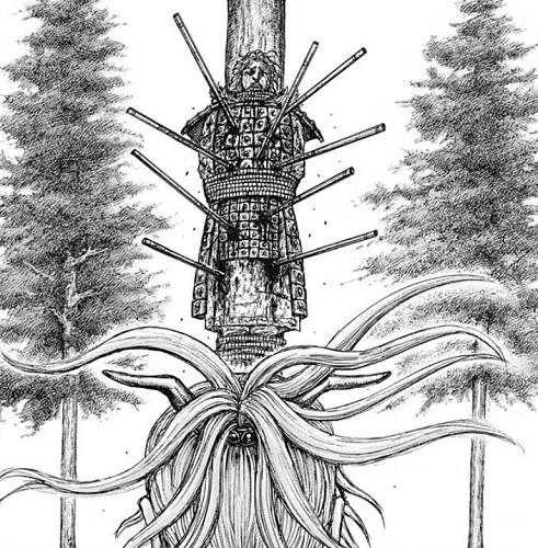キングダム682話 龍白公の末っ子である曹還の亡骸