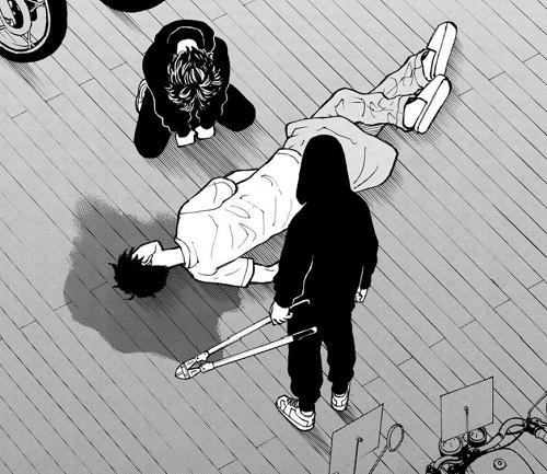 東京卍リベンジャーズ6巻 マイキーの兄である真一郎を殺してしまった一虎