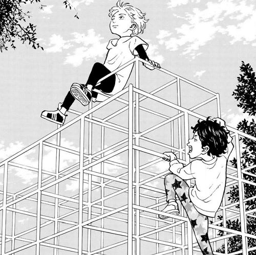 東京卍リベンジャーズ5巻 マイキーと場地圭介は幼馴染