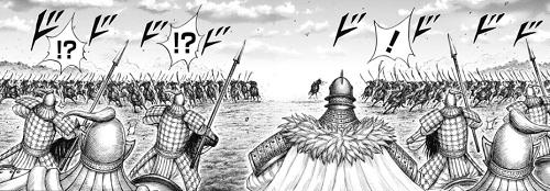 キングダム692話 扈輒の逃げ道を防いだ桓騎の部隊